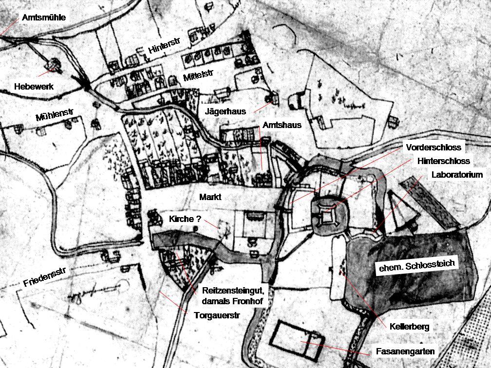 Stadtplan von 1578