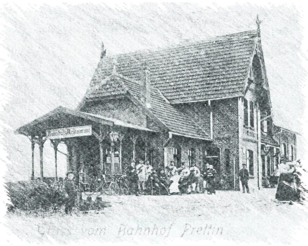 Empfangsgebäude Bahnhof Prettin
