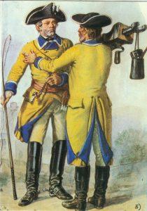 Sächscher Postillion 1762