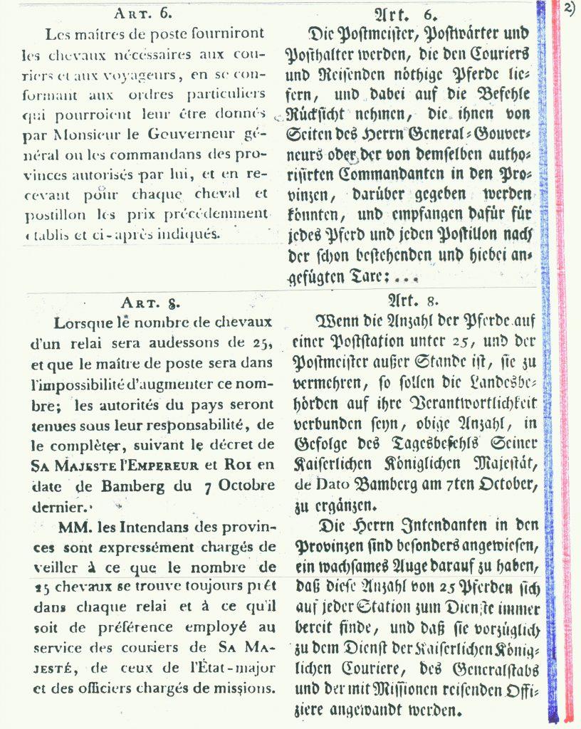 Französische Verordnung von 1806