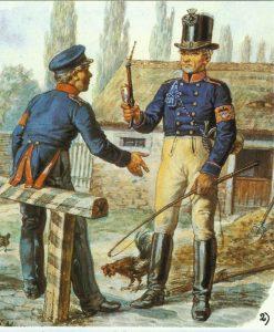 Preußische Postillion von 1830