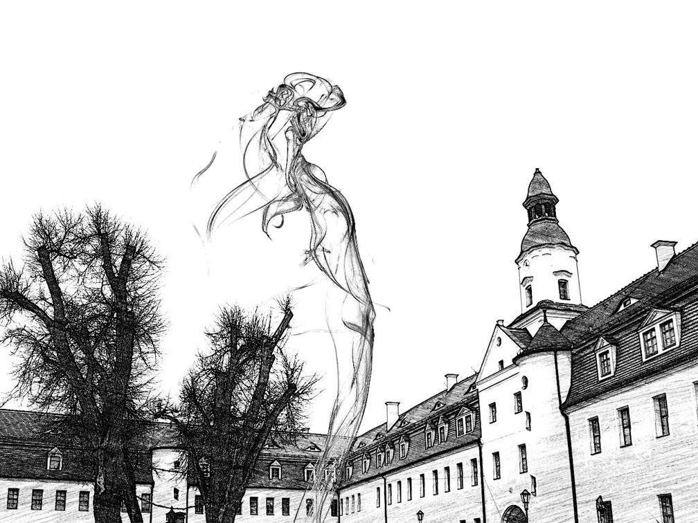 """Die """"weiße Frau"""" im Annaburger Schloss"""